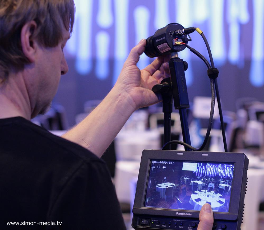 Chipkameras - Liveproduktion