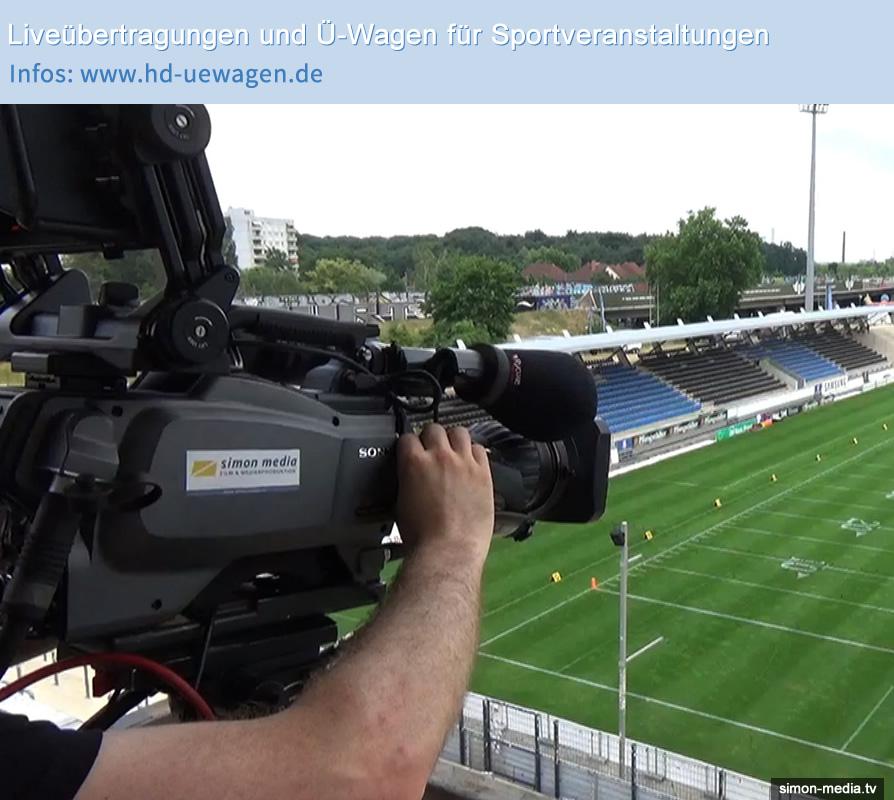 Liveübertragung und Sportproduktionen: Eurobowl Frankfurt