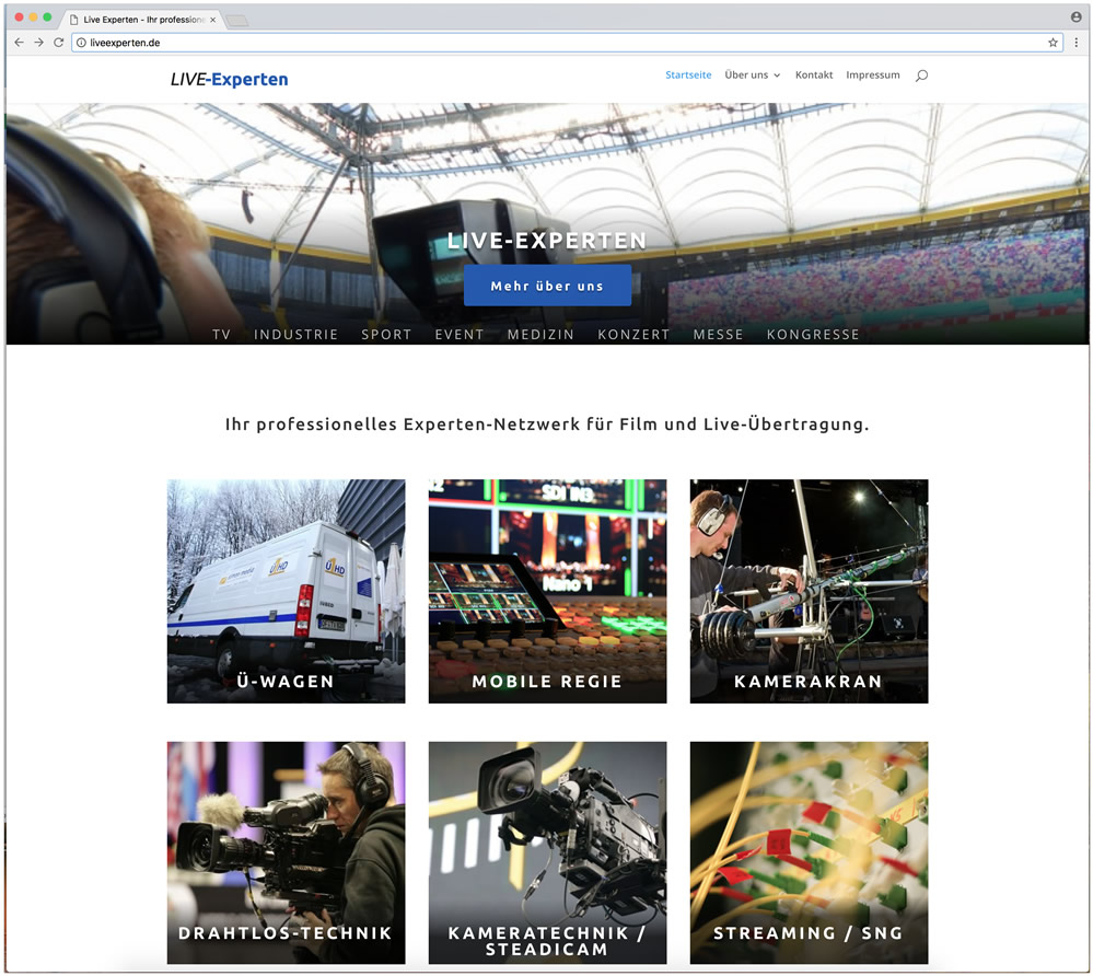 Liveexperten - Netzwerk Film und Videoproduktion