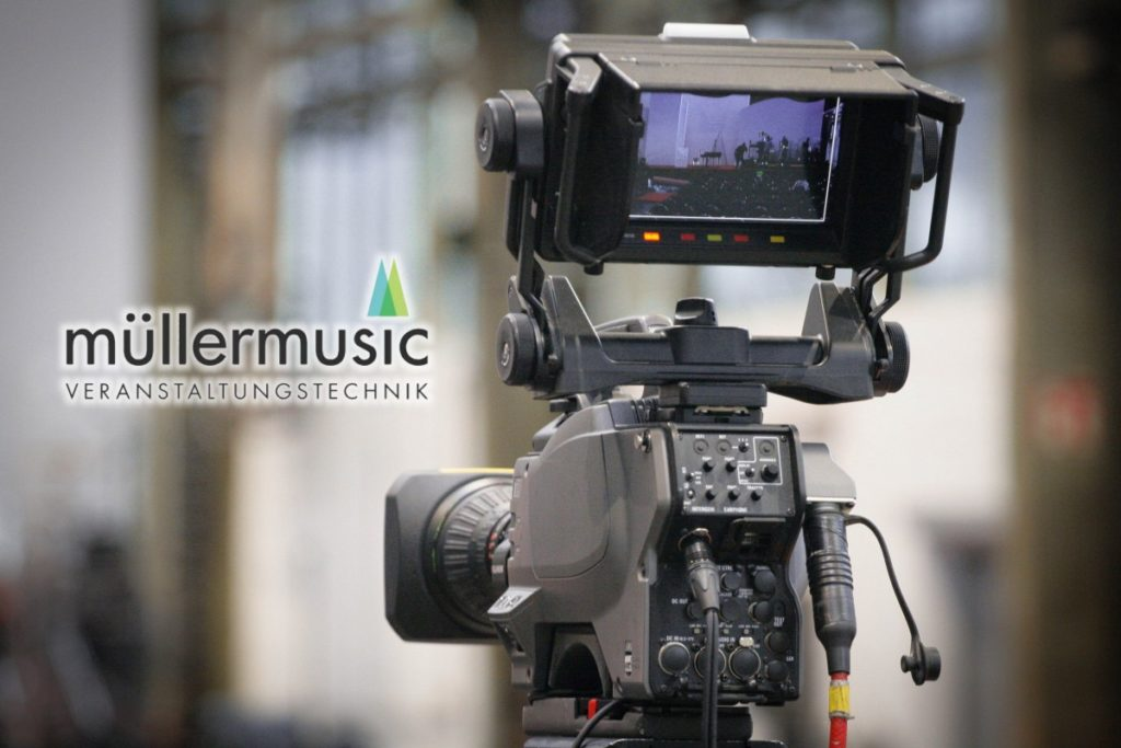 Kameratechnik - Projekte: Müllermusic