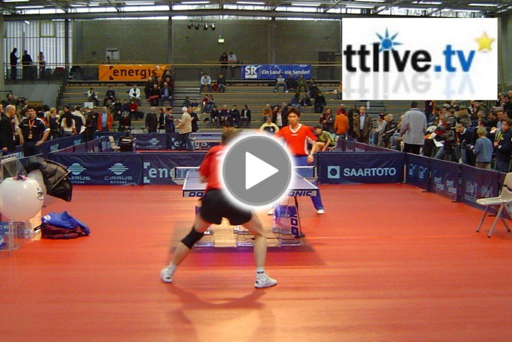 Mobilregie & Liveübertragung: Tischtennis Bundesliga