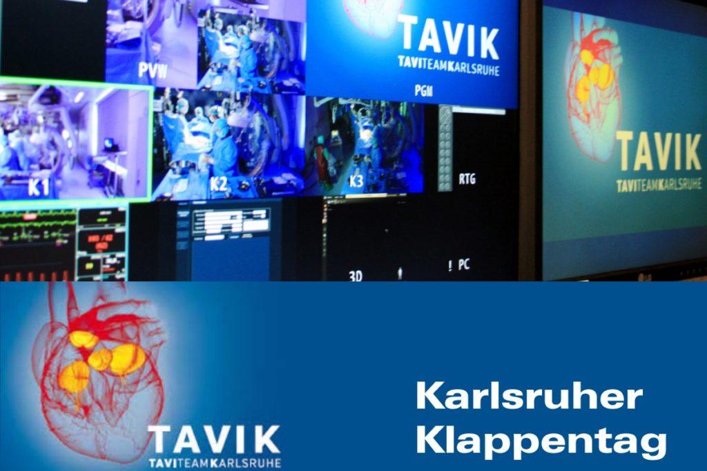 Liveübertragung Medizin: Karlsruher Klappentag