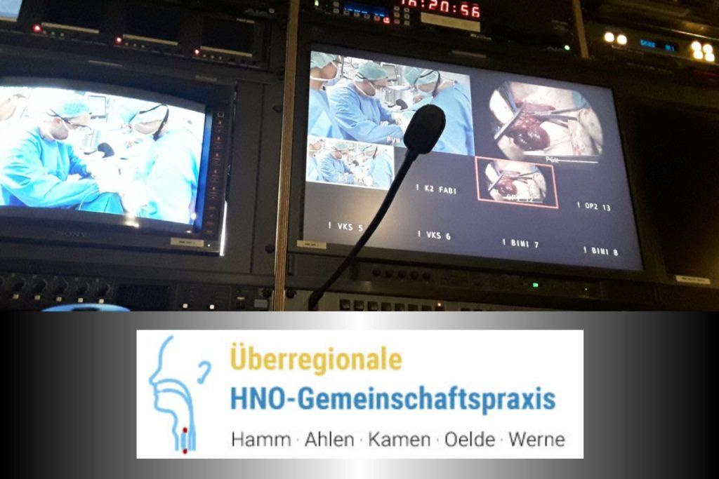 Liveübertragung Medizin: OP Hamm