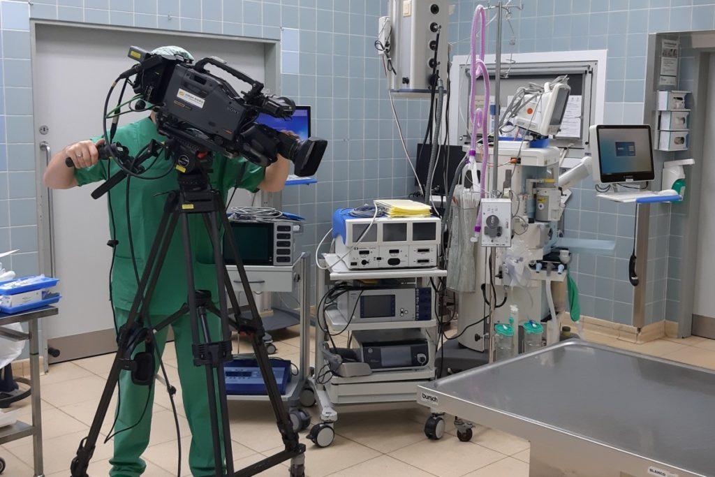 Liveübertragung Medizin: Orthopaedie