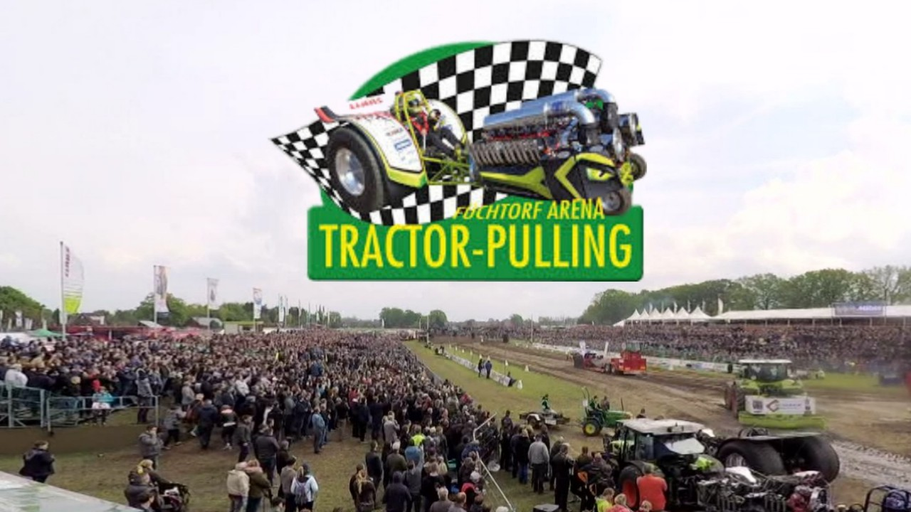 Liveübertragung u. Kameratechnik beim Traktor Pulling