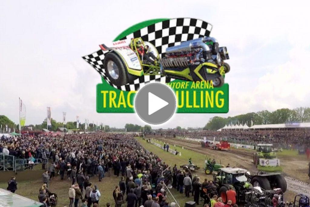 Ü-Wagen und Liveübertragung beim Tractor Pulling