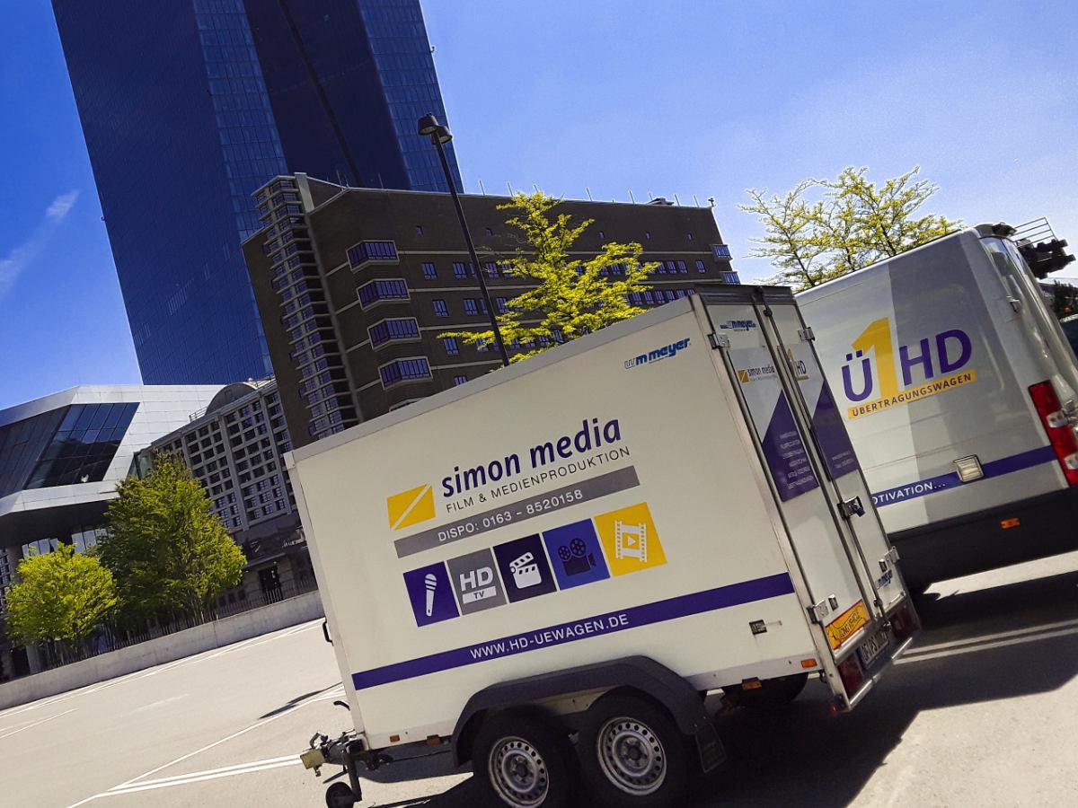 Liveübertragung - Pressekonferenzen EZB Frankfurt