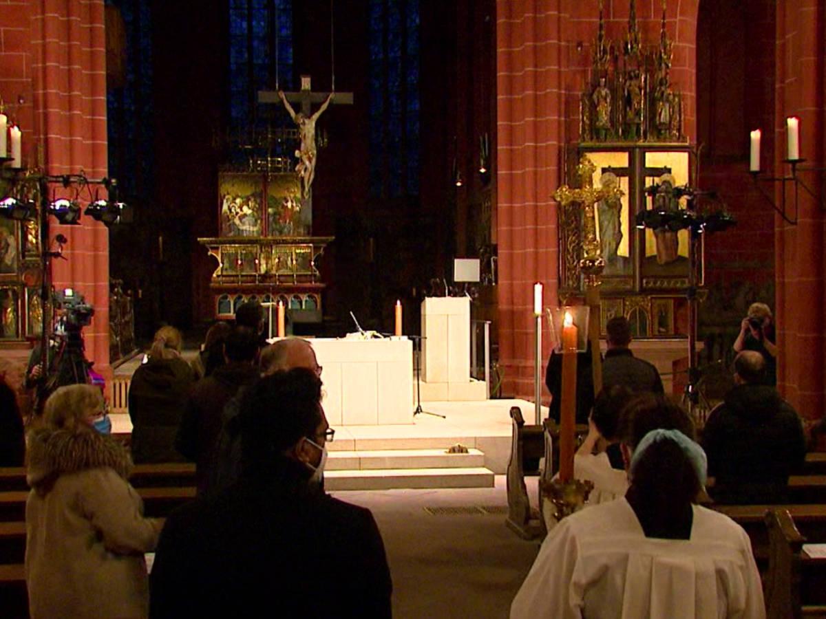 Liveübertragung Gottesdienst 2021 - Kaiserdom Frankfurt