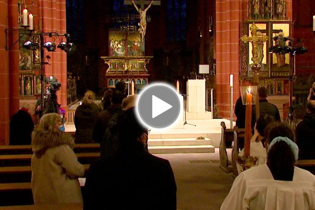 Live-Übertragung aus dem Frankfurter Dom