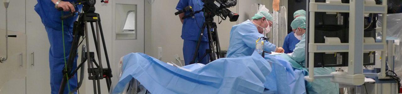 Liveübertragung Medizin, OP