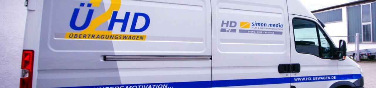 UE2HD - Kleinen Ü-Wagen mieten